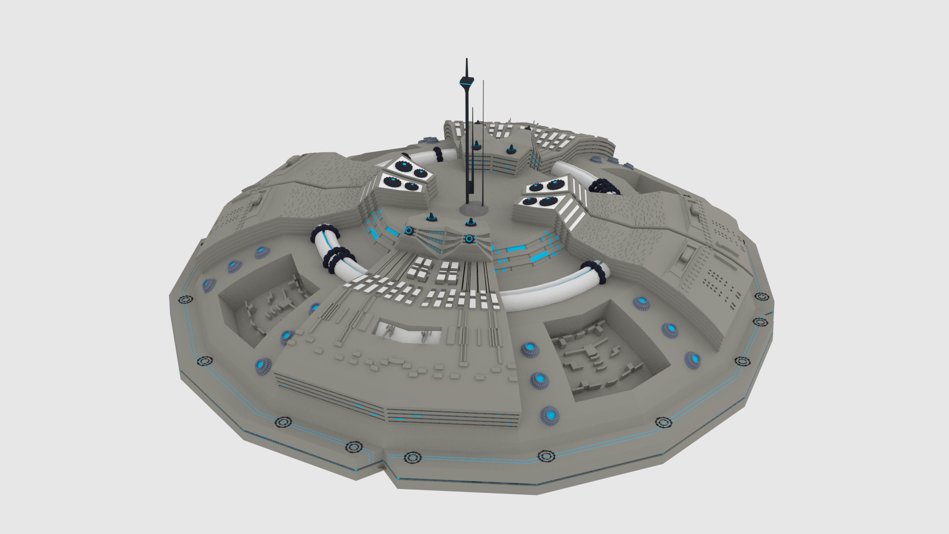 UFO Spaceship by RGB-box | 3DOcean for Ufo Ship Png  70ref