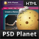 PSD Planet - ThemeForest Item for Sale