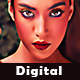 Digital Art Painting Action
