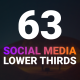 63 Social Media Lower Thirds - VideoHive Item for Sale