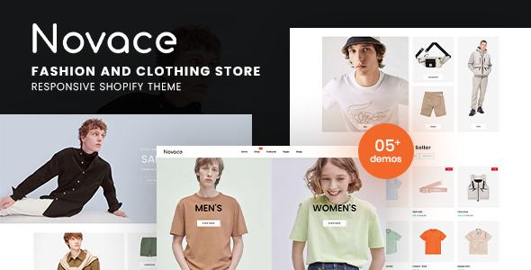 Novace – Fashion Store Responsive Shopify Theme