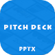 Pitch Deck - Modern Powerpoint Template