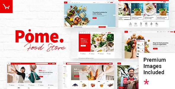 Great Pome - Food Store WordPress Theme