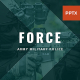 FORCE - Army Military Police PowerPoint Template
