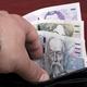 Czech money in the black wallet - PhotoDune Item for Sale