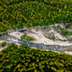 Top Down View at Bialka River in Green Forest, Poland - PhotoDune Item for Sale