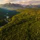 Panoramic View Over Tatra Mountains Landscape at Sunrise. Aerial Drone View - PhotoDune Item for Sale