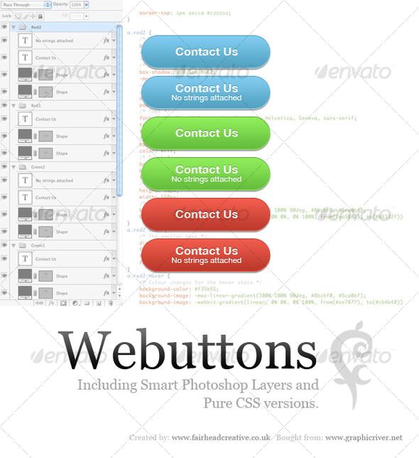 Webuttons - Buttons Web Elements