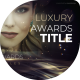 Luxury Silky Titles - VideoHive Item for Sale