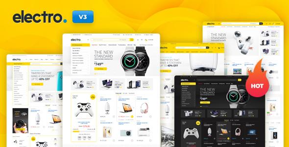 Electro Electronics Store WooCommerce Theme Nulled