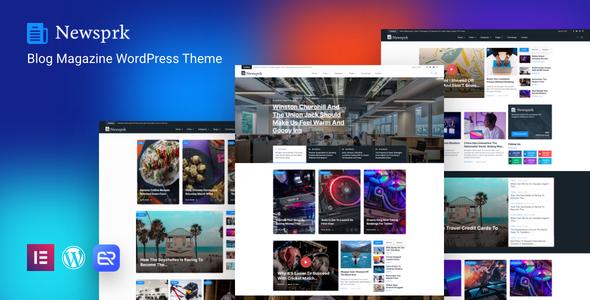 Newsprk – Newspaper WordPress Theme
