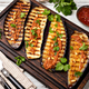 Grilled eggplant and sauce - PhotoDune Item for Sale