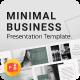 Minimal Business PowerPoint Presentation Template