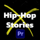 Hip-Hop Instagram Stories | MOGRT - VideoHive Item for Sale
