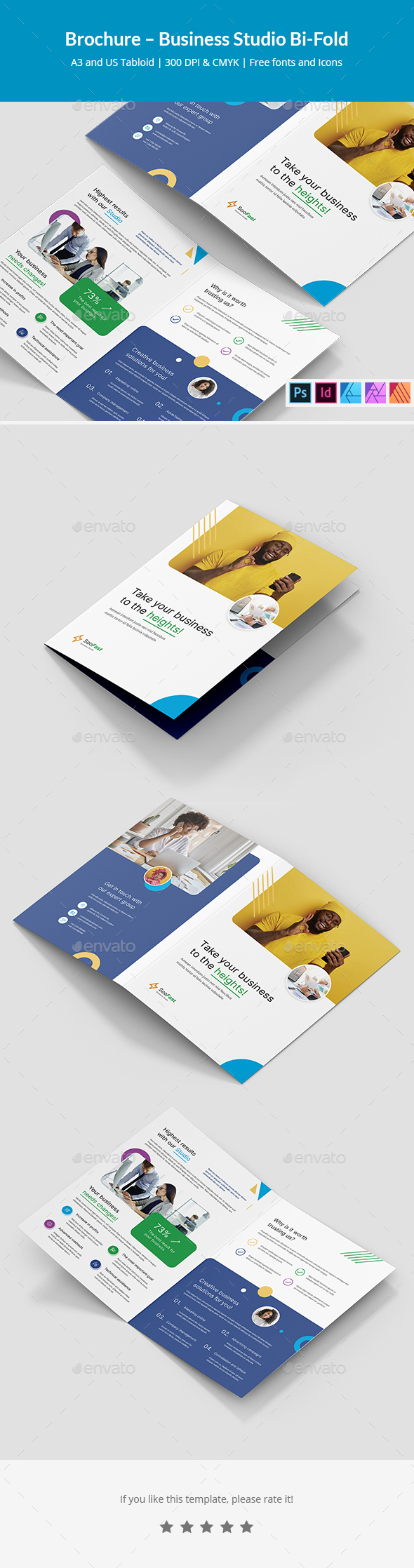 Brochure – Business Studio Bi-Fold