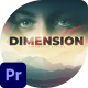 Dimension Cinematic title - VideoHive Item for Sale