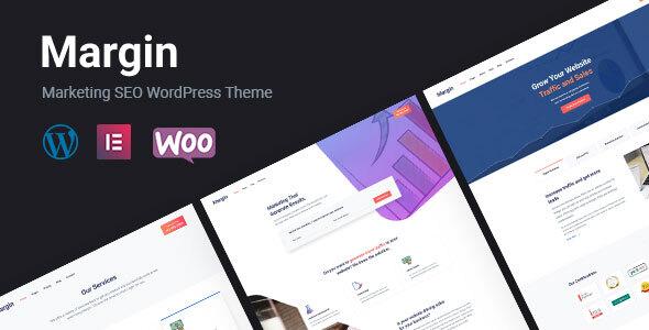Margin   Elementor Marketing & SEO WordPress Theme
