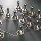 Organizational chart of a company. Hierarchy concept. - PhotoDune Item for Sale