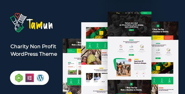 Special Tamun - Fundraising WordPress Theme