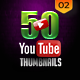 50 YouTube Thumbnails