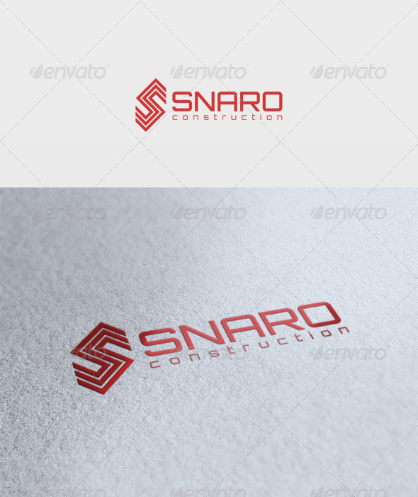 Snaro Logo - Letters Logo Templates