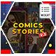 Comics Instagram Stories v.2 - MOGRT - VideoHive Item for Sale