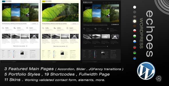 Free Download Echoes | Wordpress Theme Nulled Latest Version