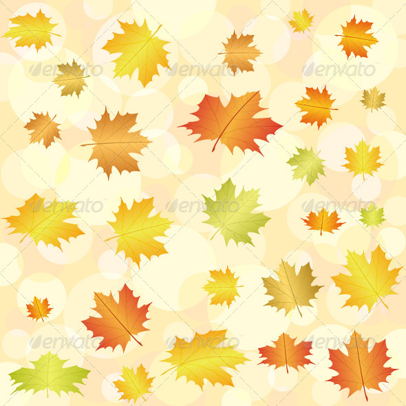 abstract autumn background - Backgrounds Decorative