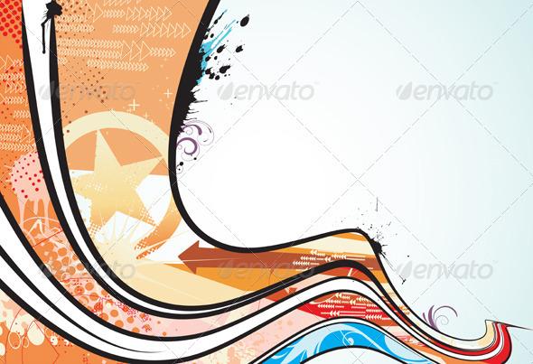 Abstract background  - Conceptual Vectors