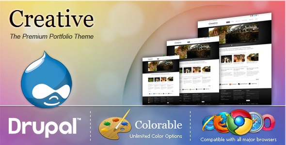 Free Download Creative - The Premium Portfolio Theme Nulled Latest Version