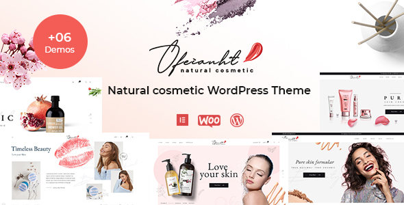 Download Ofeianht – Natural Cosmetics WordPress Theme Free Nulled