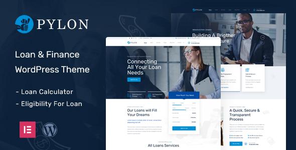 Pylon – Loan & Finance WordPress Theme