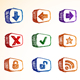 Internet and Computer Icon Set - GraphicRiver Item for Sale