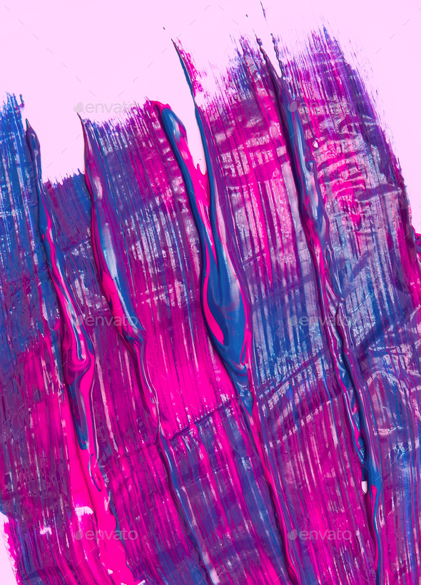 Pink and purple chaos - Stock Photo - Images