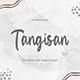 Tangisan – Handwritten Script