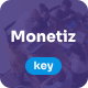 Monetiz - Creative Keynote Presentation