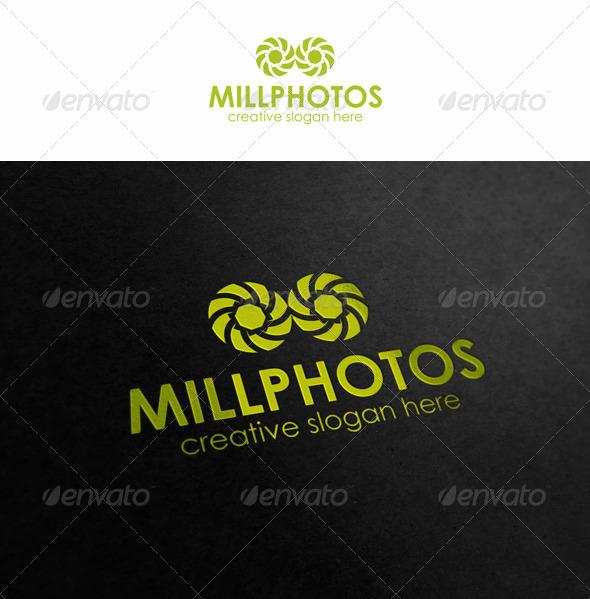 Mill Photos - Symbols Logo Templates