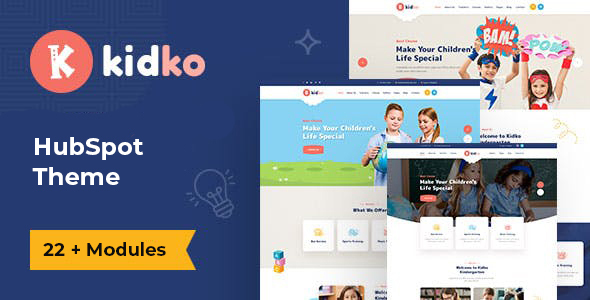Kidko – Kindergarten & Baby Care HubSpot Theme