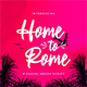 Home to Rome – Casual Brush Script