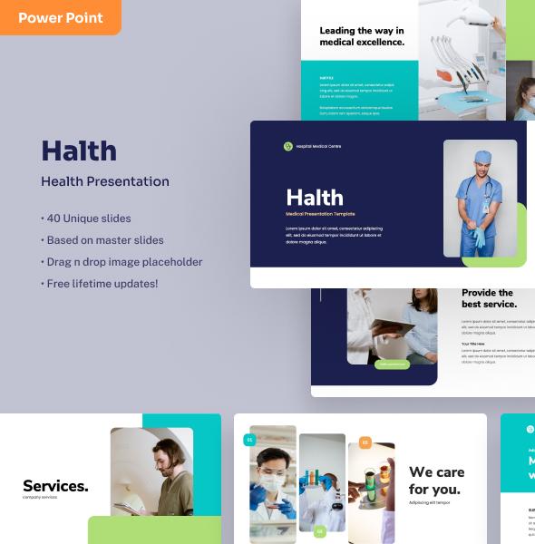 Halth - Medical PowerPoint Presentation
