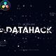 Glitch Logo - Data Hack // DaVinci Resolve - VideoHive Item for Sale