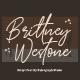 Brittney Westone - Handwriting Font