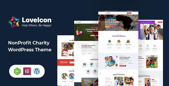 LoveIcon – Nonprofit Charity Theme