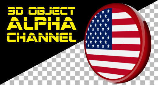 3D OBJECT ALPHA CHANNEL