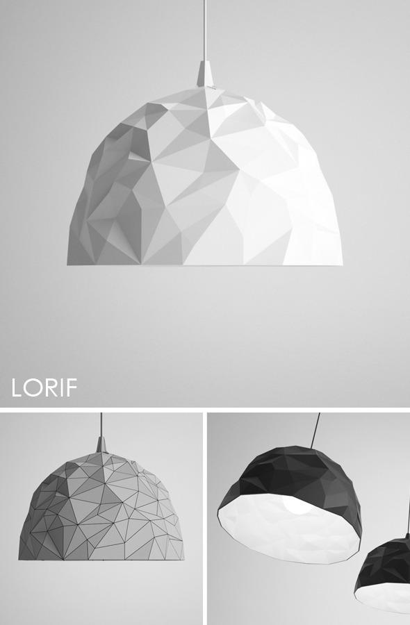 Foscarini Rock pendent lamp - 3DOcean Item for Sale