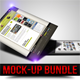 Largest Web Mock-up Bundle Pack [17 mock-ups] - GraphicRiver Item for Sale
