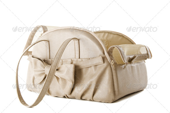 travel bag for dog - Stock Photo - Images