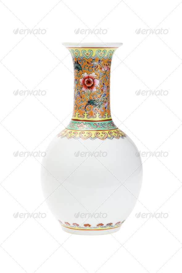 Chinese Porcelain Vase - Stock Photo - Images