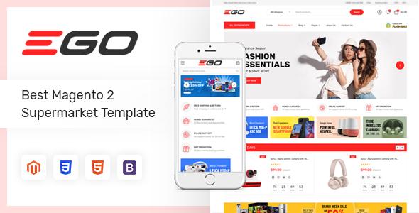 Ego – Marketplace Multipurpose Magento 2 Theme