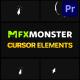 Cursors Elements | Premiere Pro MOGRT - VideoHive Item for Sale